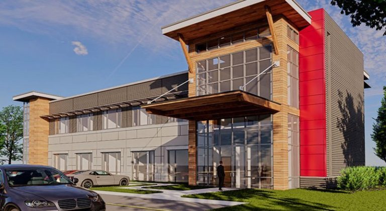 Jackson Hole Law Office exterior rendering